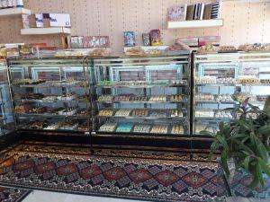 یخچال ویترینی شیرینی فروشی