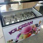 تاپینگ بستنی کوچک میوه ای