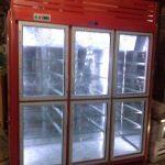 یخچال ایستاده سوپری 6 درب قرمز رنگ